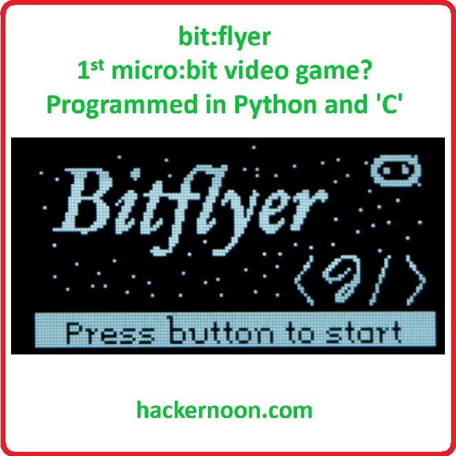 bit:flyer Video Game Project in MicroPython & C