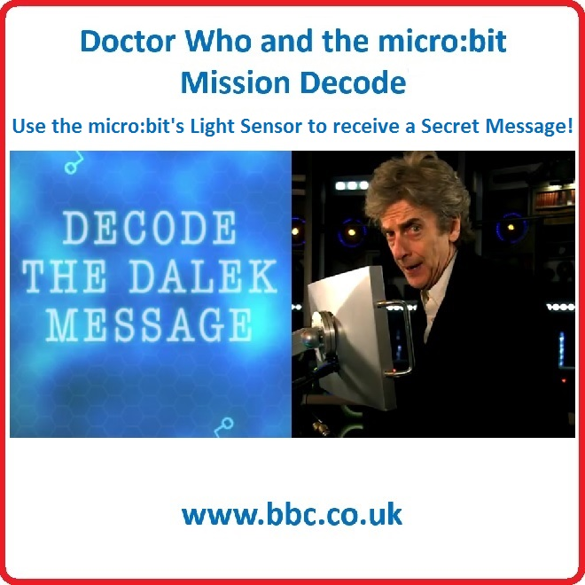 Dr Who micro:bit Mission Decode