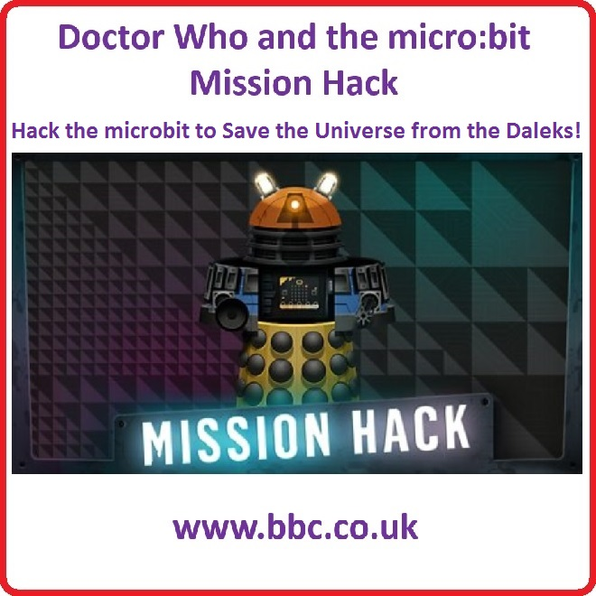 Dr Who micro:bit Mission Hack