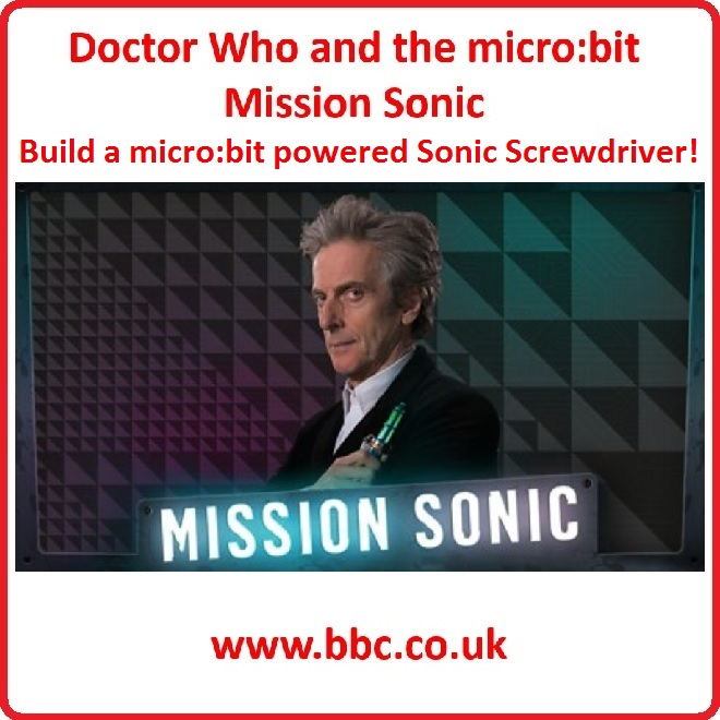 Dr Who micro:bit Mission Sonic